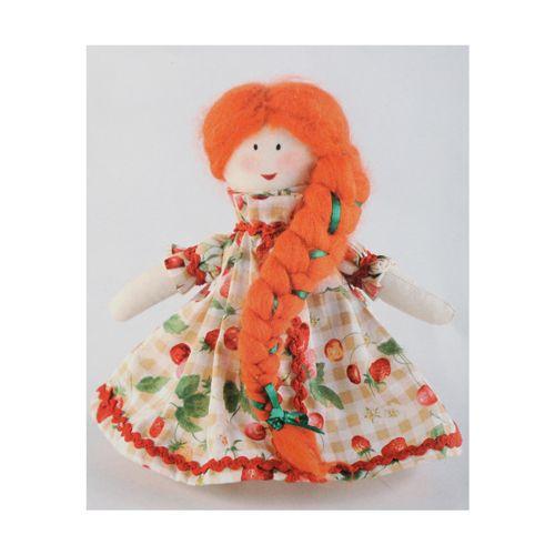 ПРМ602 Набор для изготовления текстильной игрушки 'Машенька', 15,5 см, 'Перловка'