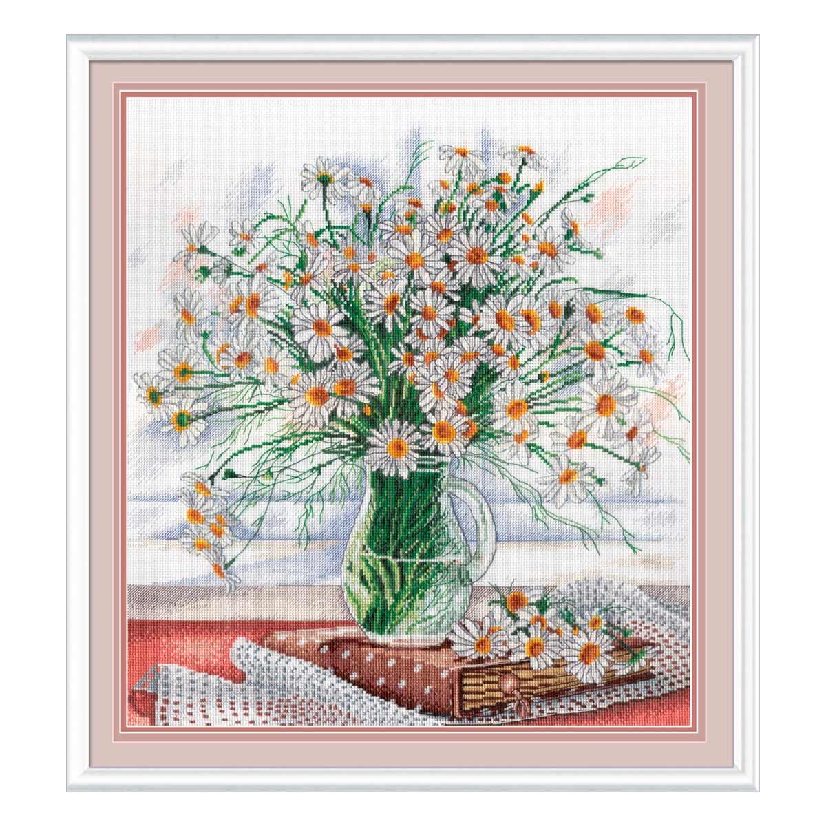 НВ-533 Набор для вышивания 'МП Студия' 'Нежность полевых цветов', 31*30 см