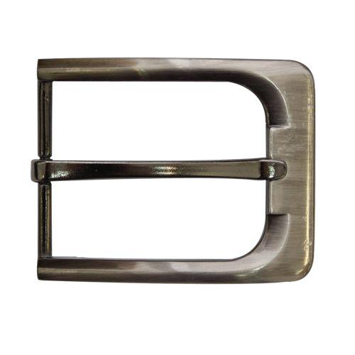 22433 Пряжка мужская на ремень 348, т.никель, 35 мм