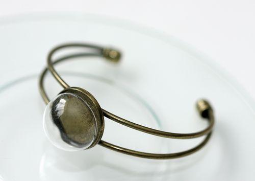 SCB24001003 Набор браслет со стеклянным украшением 20мм