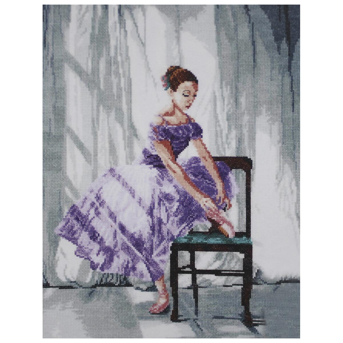 "Набор для вышивания 801 ""Балерина"", 31х42 см, Hobby&Pro"