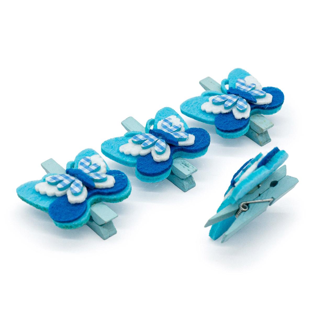 PR Набор декоративных прищепок 'Decorative Gift', упак./4 шт.