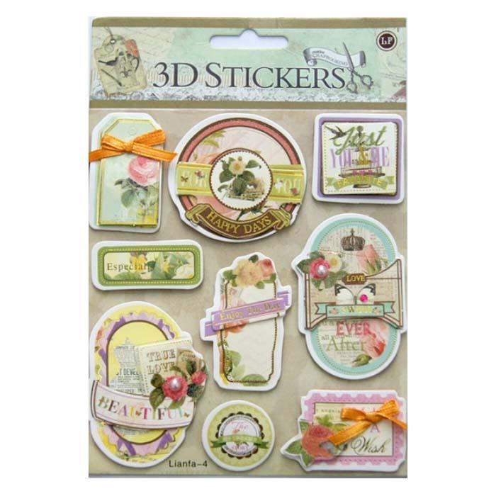 24371 Наклейки 3D 'Stickers', арт. lianfa-AI-4