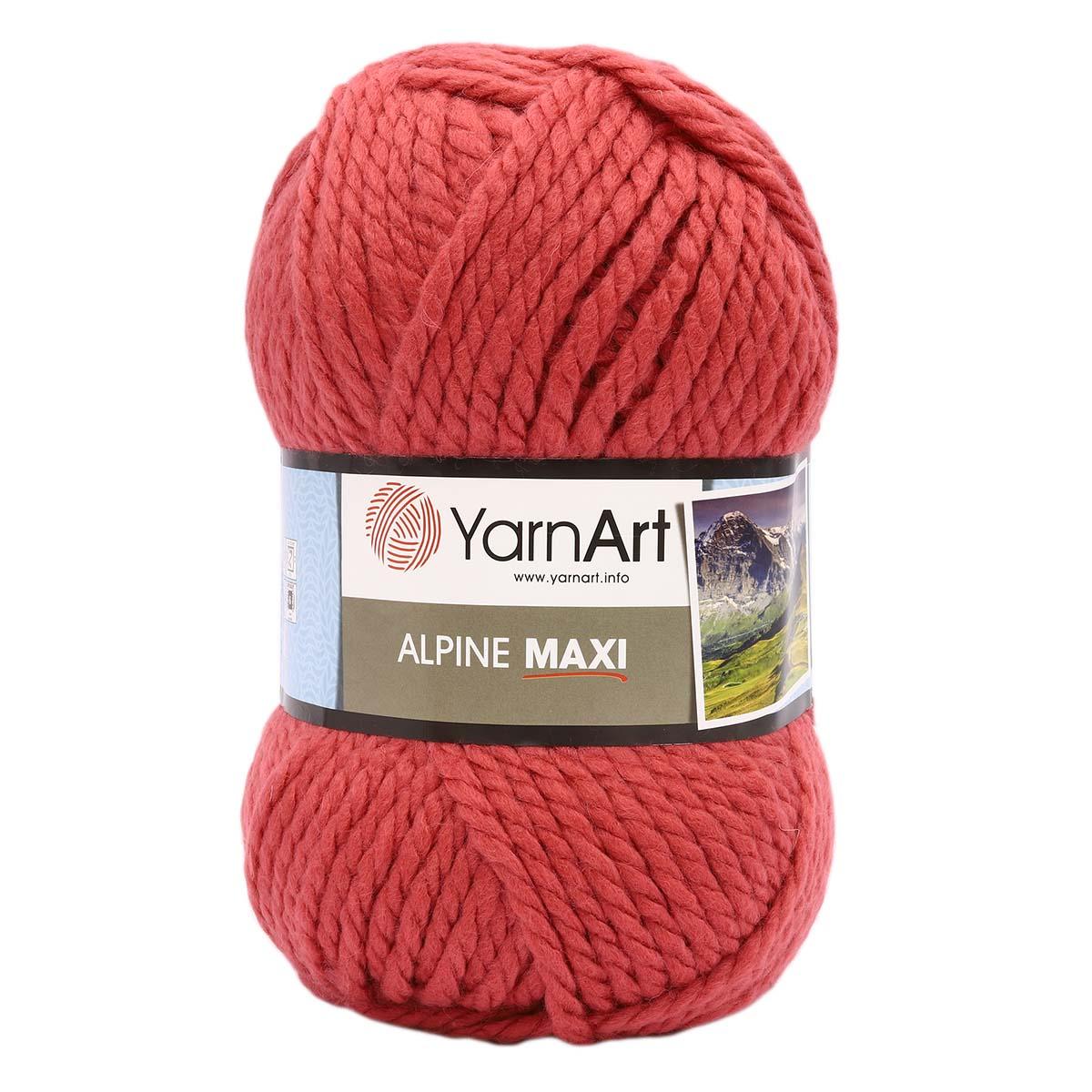 Пряжа YarnArt 'Alpine Maxi' 250г., 105м. (40% шерсть, 60% акрил)