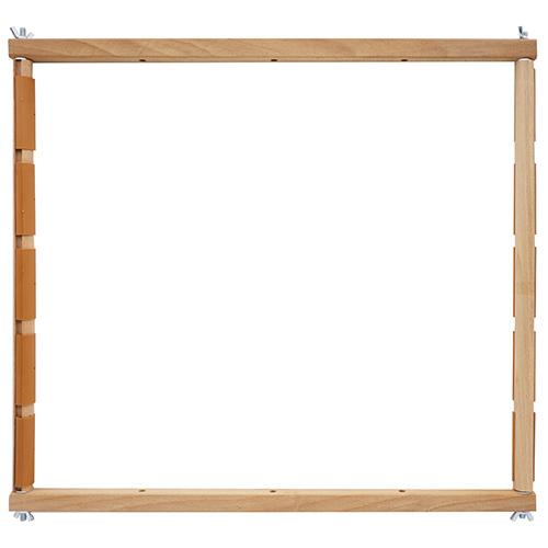 ПГК-4350 Пяльцы-рамка с клипсами (четыре размера), бук