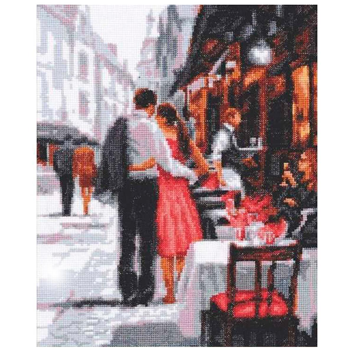 11.008 Набор для вышивания 'Палитра' 'Романтическое настроение', 20х26 см