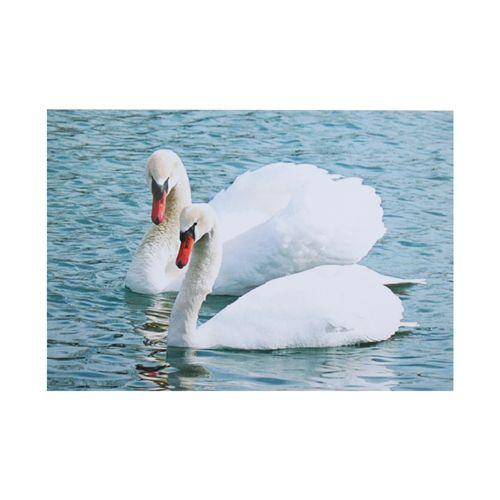РТ130068 Папертоль 'Белые лебеди', 19*14 см