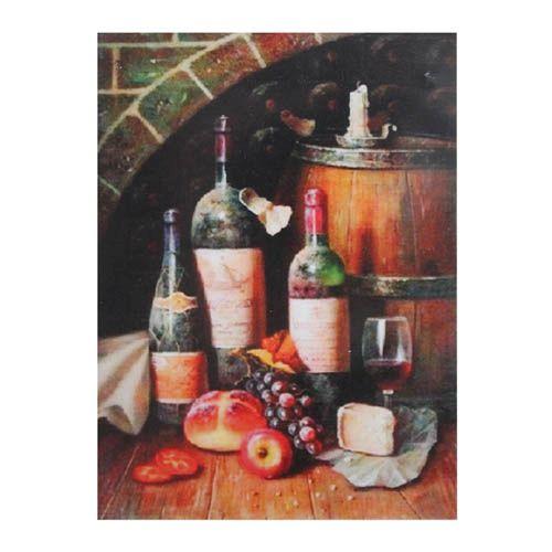РТ130076 Папертоль 'Бутылки натюрморт', 14*20 см