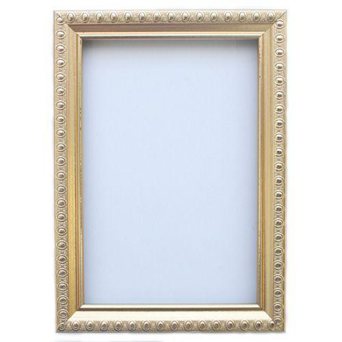 RAM111001 Рама без стекла с прозрачным дном, золото, 10*15 см