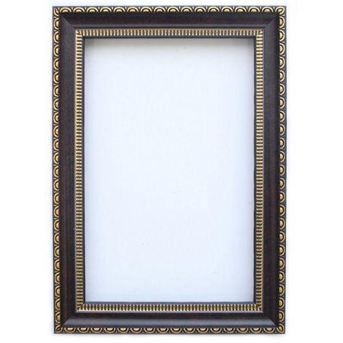 RAM111003 Рама без стекла с прозрачным дном, шоколад, 10*15 см