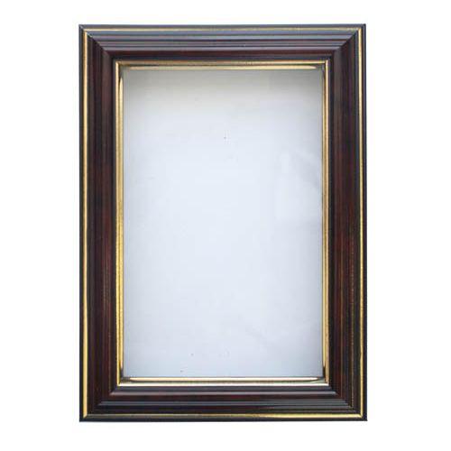 RAM111009 Рама (аквариум) глубокий багет со стеклом с прозрачным дном, яшма, 10*15 см