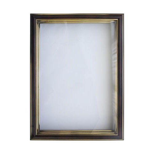 RAM111021 Рама (аквариум) глубокий багет со стеклом с прозрачным дном, яшма, 21*30 см