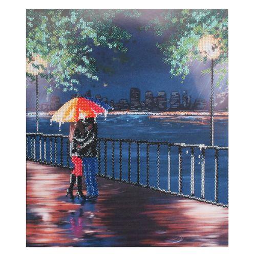 БН-3164 Набор для вышивания бисером Hobby&Pro 'Дождь', 30*35 см