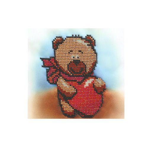 Б-0089 Набор для вышивания бисером 'Бисеринка' 'От всего сердца', 20*20 см