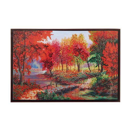 БН-3145 Набор для вышивания бисером Hobby&Pro 'Золотая осень', 40*30 см