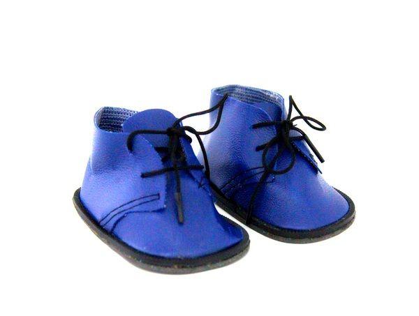 23376 Ботиночки для кукол, 5,0см, пара (синие)
