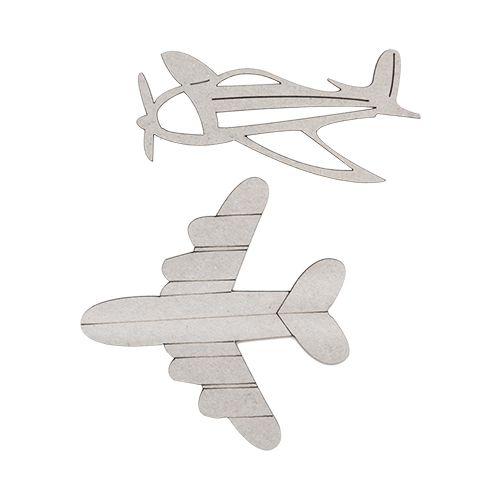 ВК-42 Декоративный элемент 'Самолеты' 6,2*3см, 5,7*5,5см, 2 шт 'Астра'