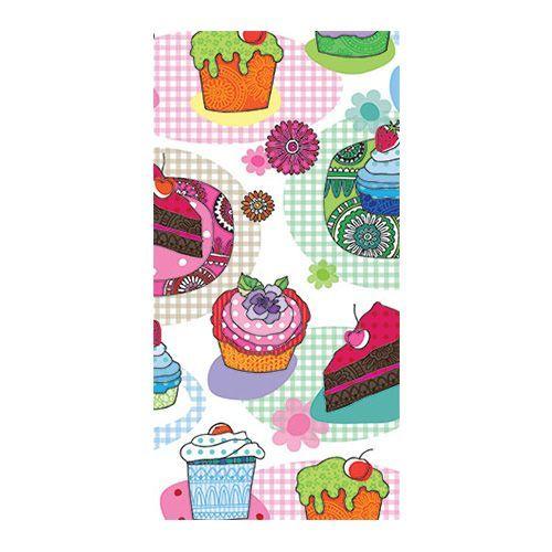 SDS841000 Салфетка бумажная 33*33 см (3 слоя, 16 шт в уп) Tasty Cupkaces