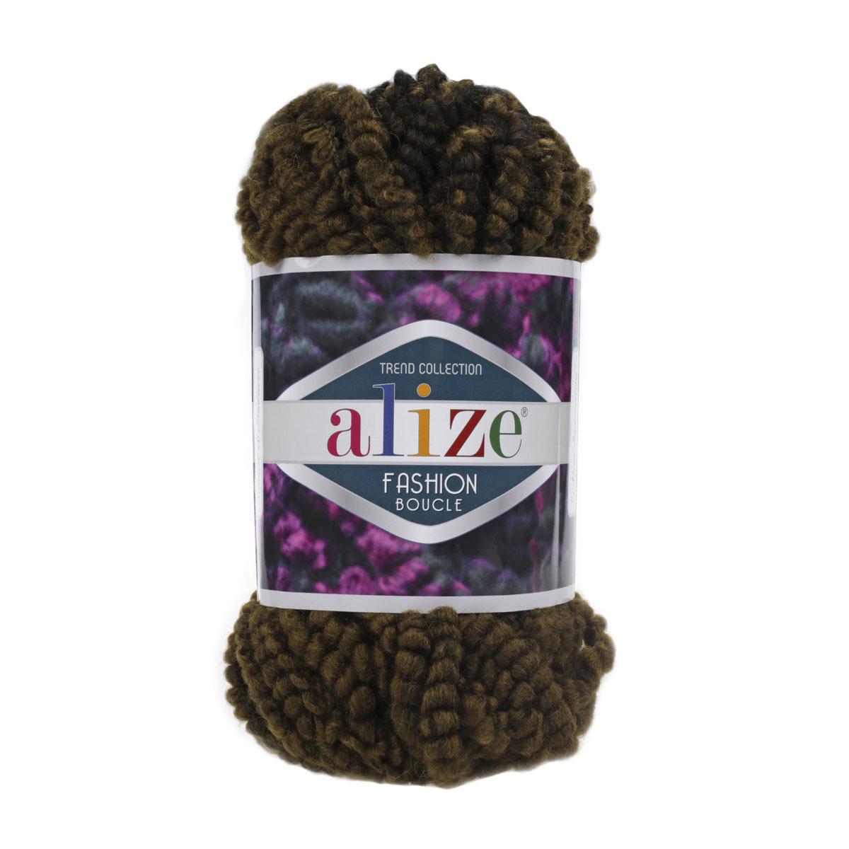 Пряжа ALIZE 'Fashion boucle' 100гр., 35м. (70%акрил, 25% шерсть, 5% полиамид) ТУ (5573) фото