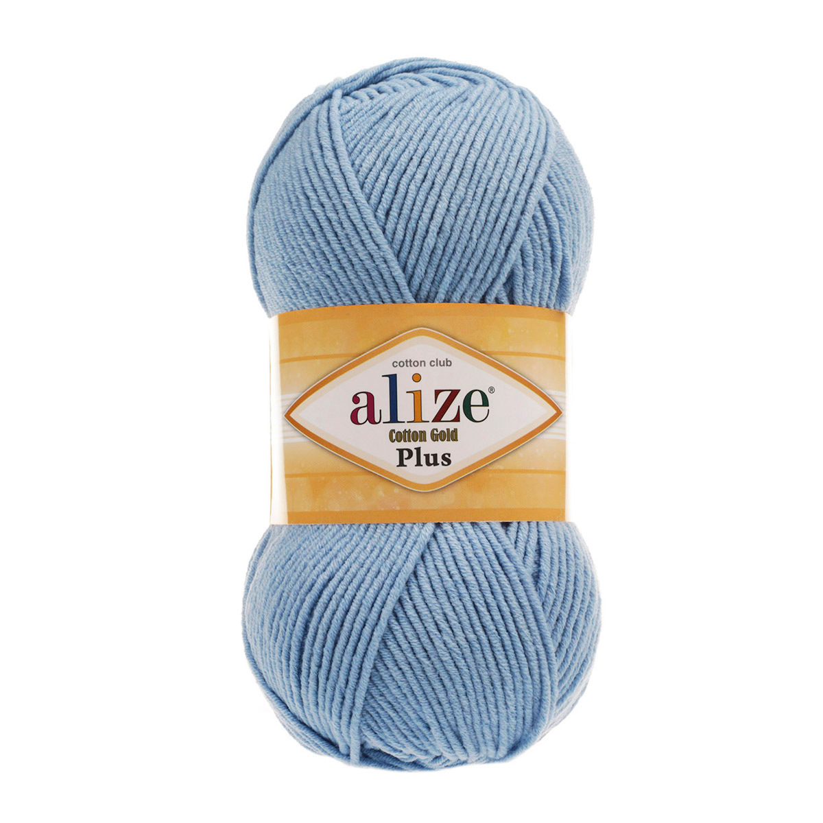 Пряжа ALIZE 'Cotton Gold Plus' 100гр., 200м. (55%хлопок, 45%акрил) ТУ