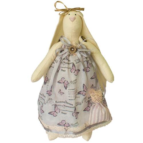 AM100030 Набор для изготовления текстильной игрушки 'Зайка Вероника', высота 29 см
