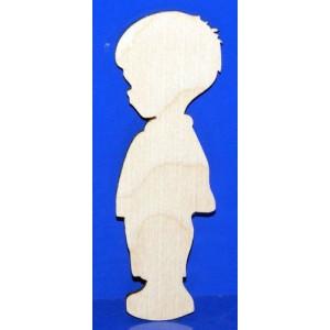 Деревянная заготовка с магнитом 'Мальчик' 5см