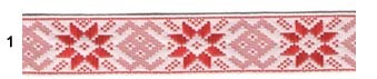 С3772Г17 Лента 'Славянский орнамент Оберег', рис.9355 24мм*50м