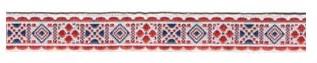 С3771Г17 Лента 'Славянский орнамент Оберег', рис.9054 18мм*50м