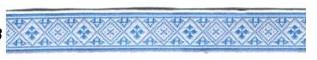 С3771Г17 Лента 'Славянский орнамент Оберег', рис.6714 18мм*50м