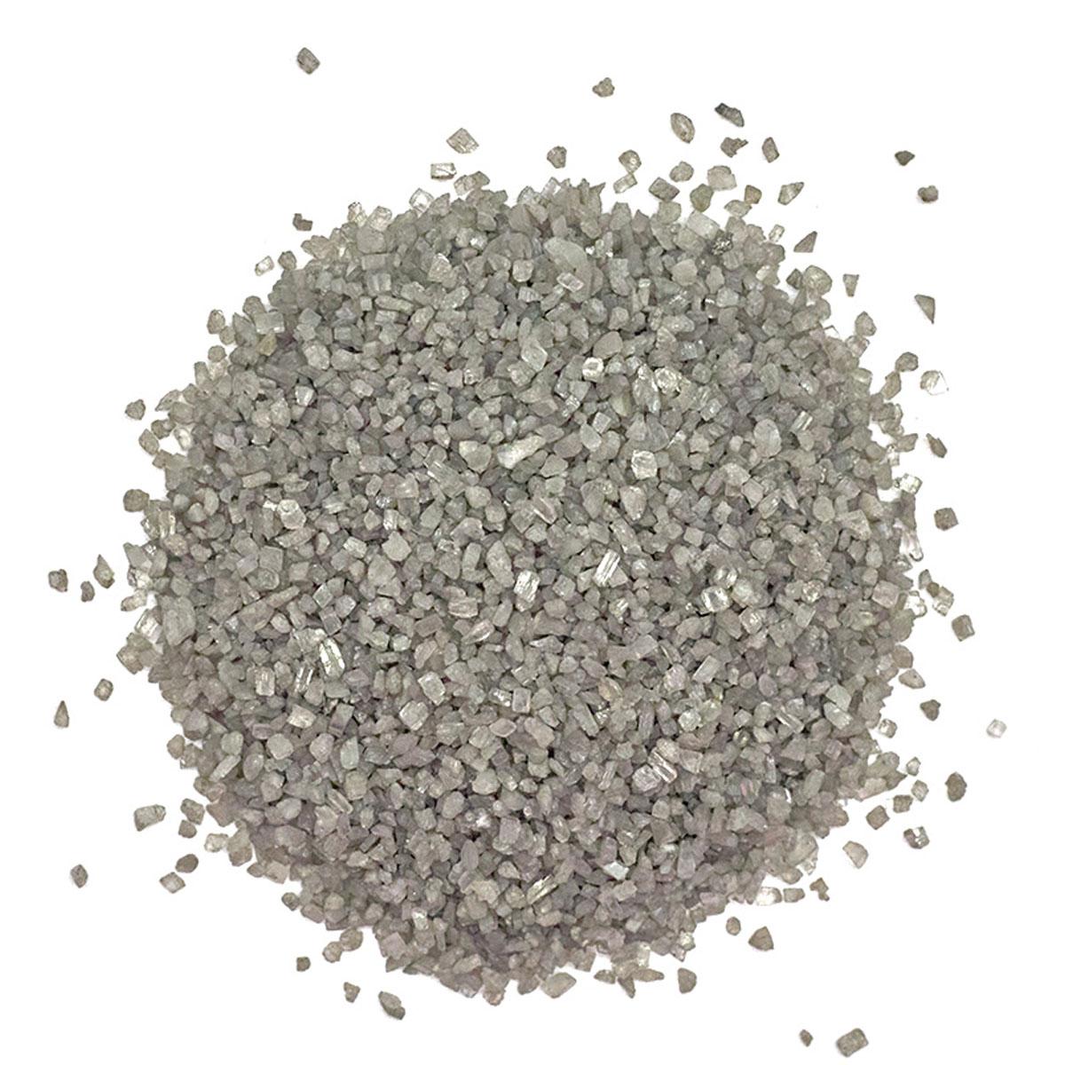 Песок для декор. работ 'Серебро' (500гр.)