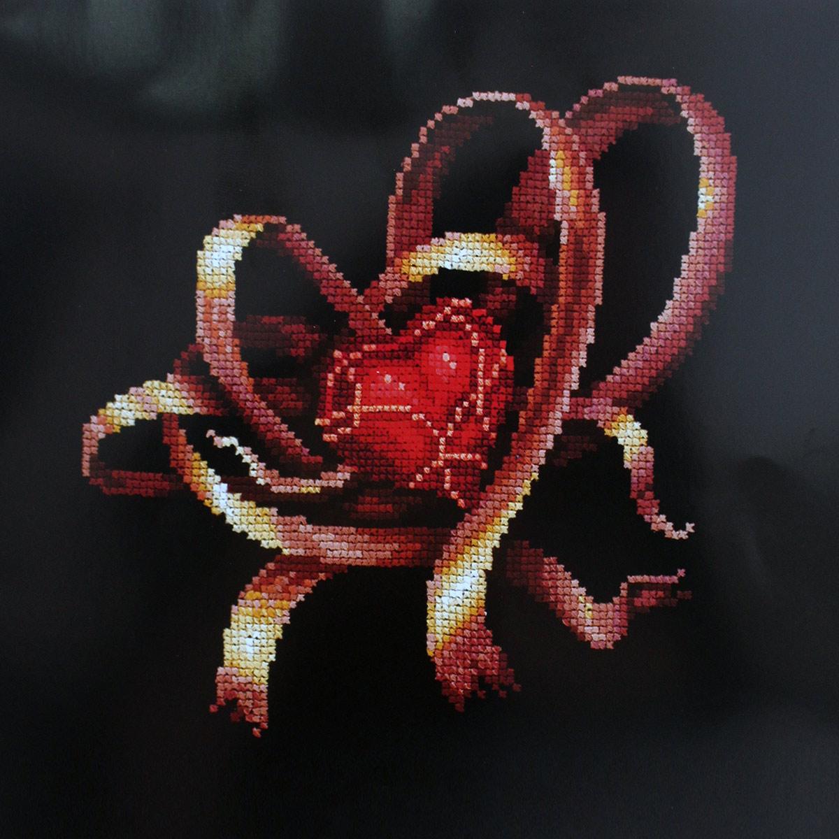 С-28 Набор для вышивания 'Сердце для тебя', 19*19 см