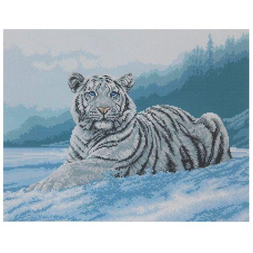 РК-304 Канва с рисунком Hobby&Pro 'Бенгальский тигр' 40*50см
