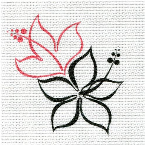 А-23 Набор для вышивания 'Китайская роза' 15*16см