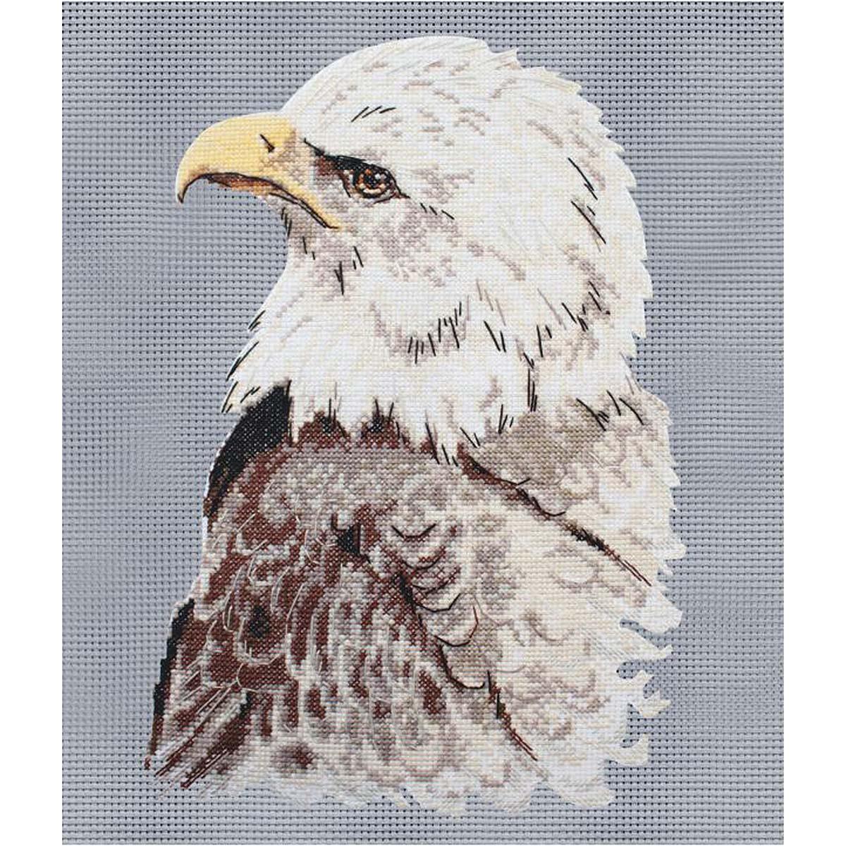 955 Набор для вышивания Hobby&Pro 'Гордый орел' 32*32см