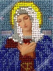 ИЧ0019 Набор для вышивания бисером Woman-Hobby 'Богородица Умиление' 6*8 см