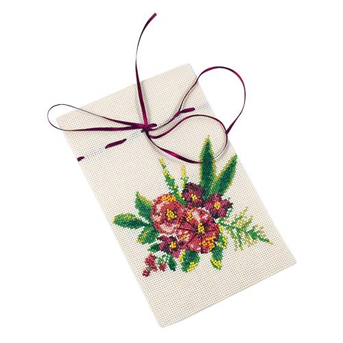 6113/СК Набор для шитья и вышивания мешочек для ароматов Матренин посад 'Джаз' 20*22см