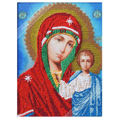 ВЛИС0004 Набор для вышивания лентами Woman-Hobby 'Божья матерь Казанская', 20,5*27,5 см