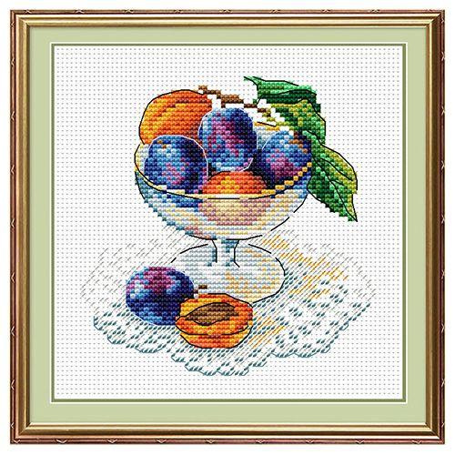 М-093 Набор для вышивания 'МП Студия' 'Вкус ягод', 15*15 см