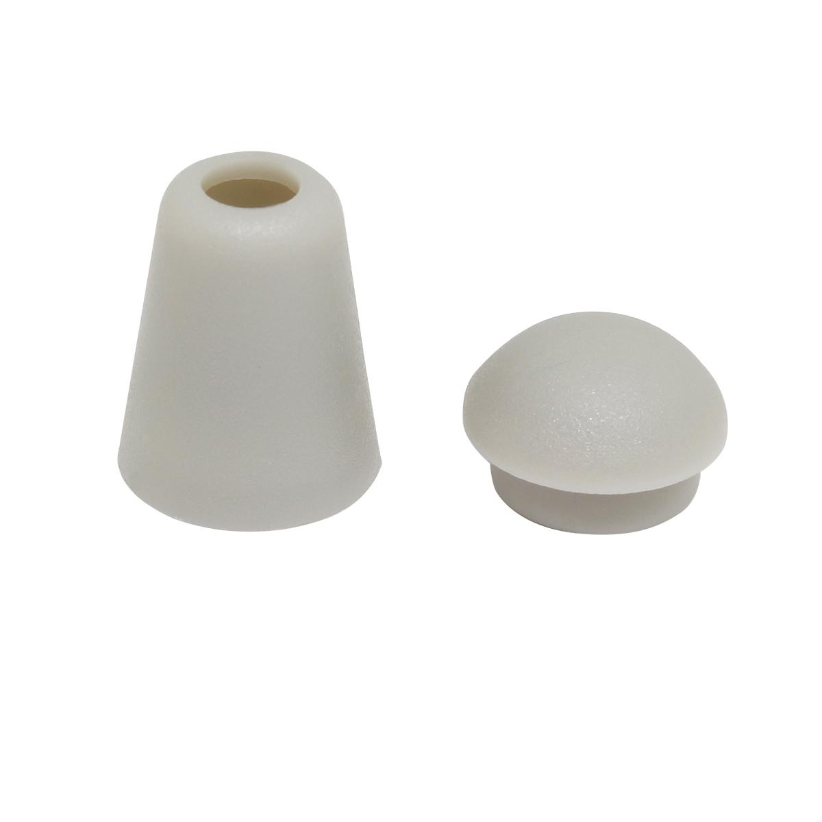 7140/50 Наконечник пластмассовый св.серый упак(4шт) Hobby&Pro