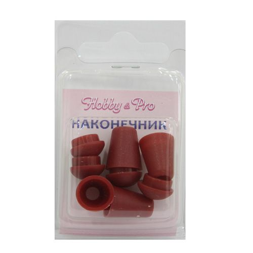 7142/52 Наконечник пластмассовый красный упак(4шт) Hobby&Pro