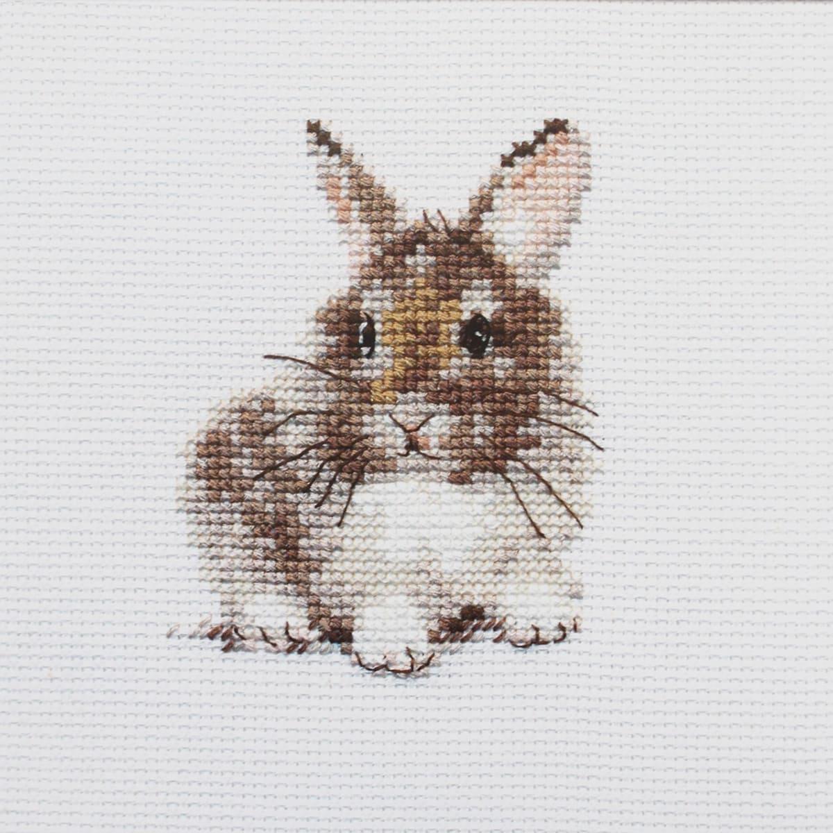 0-170 Набор для вышивания 'Алиса' 'Крольчонок', 9*7 см
