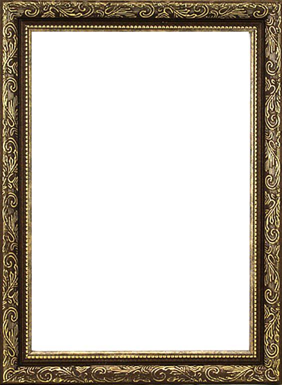 RAM114013 - рама без стекла с прозрачным дном 'Садко', коричневый, 15*15 см
