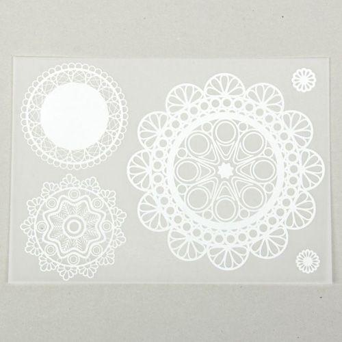 1457084 Калька декоративная 'Ажурная' 21 х 29,5 см 5шт/упак