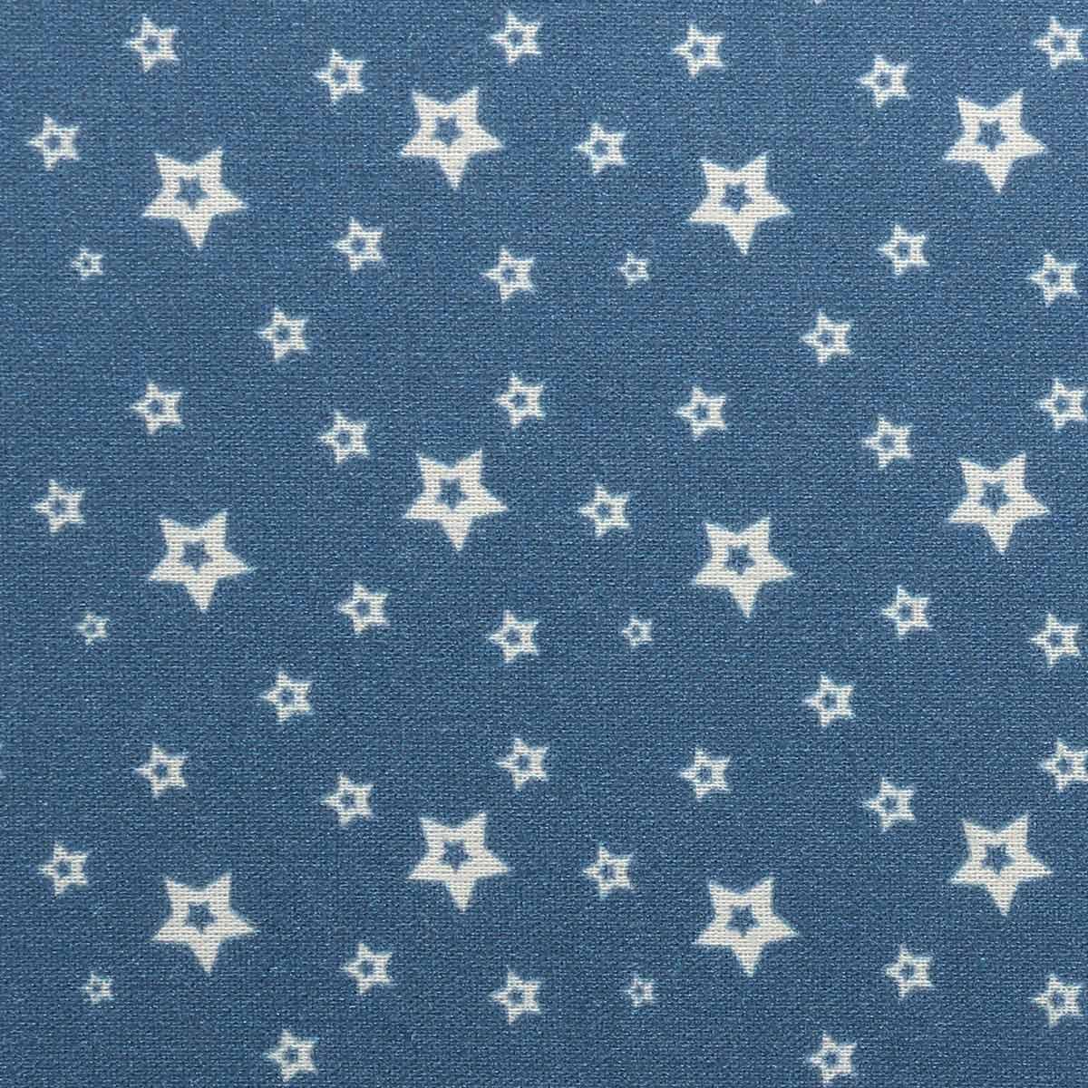АМ575002 Ткань 'Звезды' №2, 100% хлопок, 120 г/м2, размер 48*50см