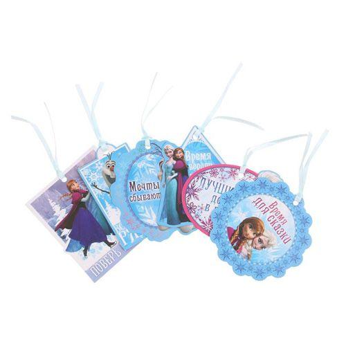 1137035 Набор мини-открыток 'Время для сказки' Холодное сердце 6ш
