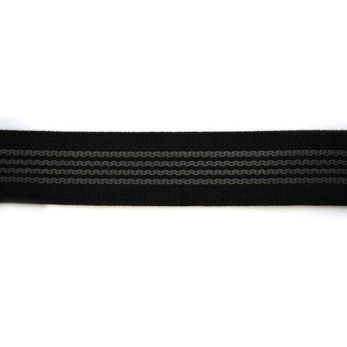 2225Ч Резинка с латексом 25мм*25м, черная