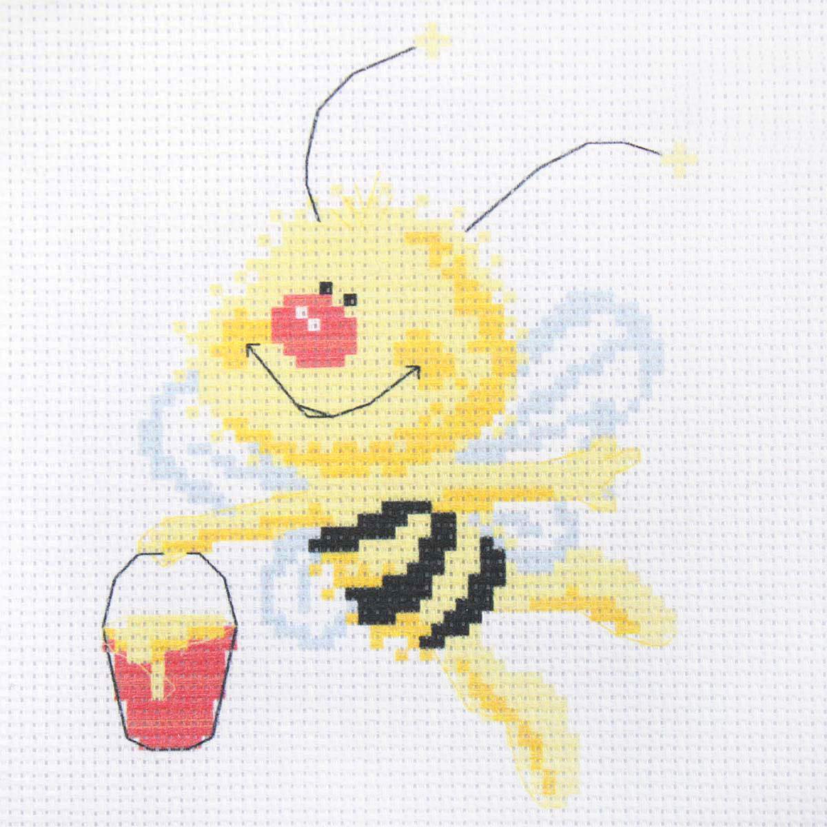 214 Набор для вышивания Василиса 'Пчелка' 19*19см