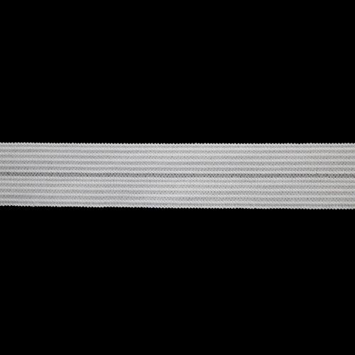 2269-15 Резинка окантовочная ажур 0316/8 20мм*20м белый (Б)