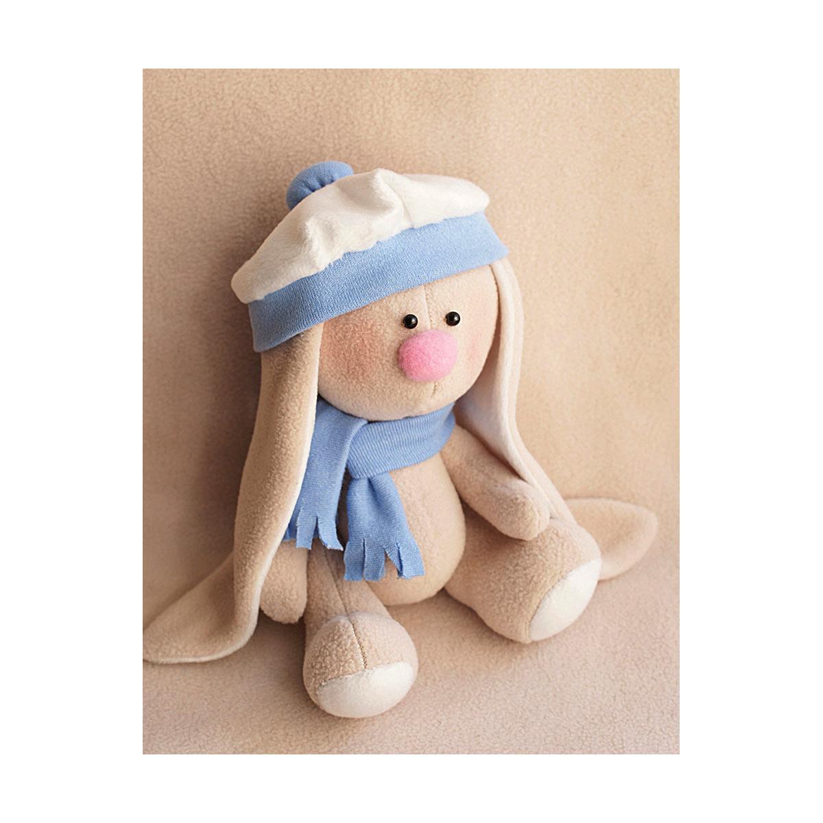 MЗ-02 Набор для изготовления текстильной игрушки HAPPY HANDS 'Зайка Ветерок' 20см