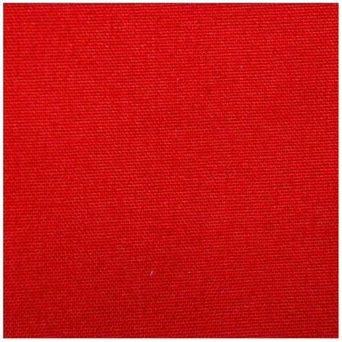 23617 Ткань однотонная 50*80см 100%полиэстер 1057-27, цв. красный